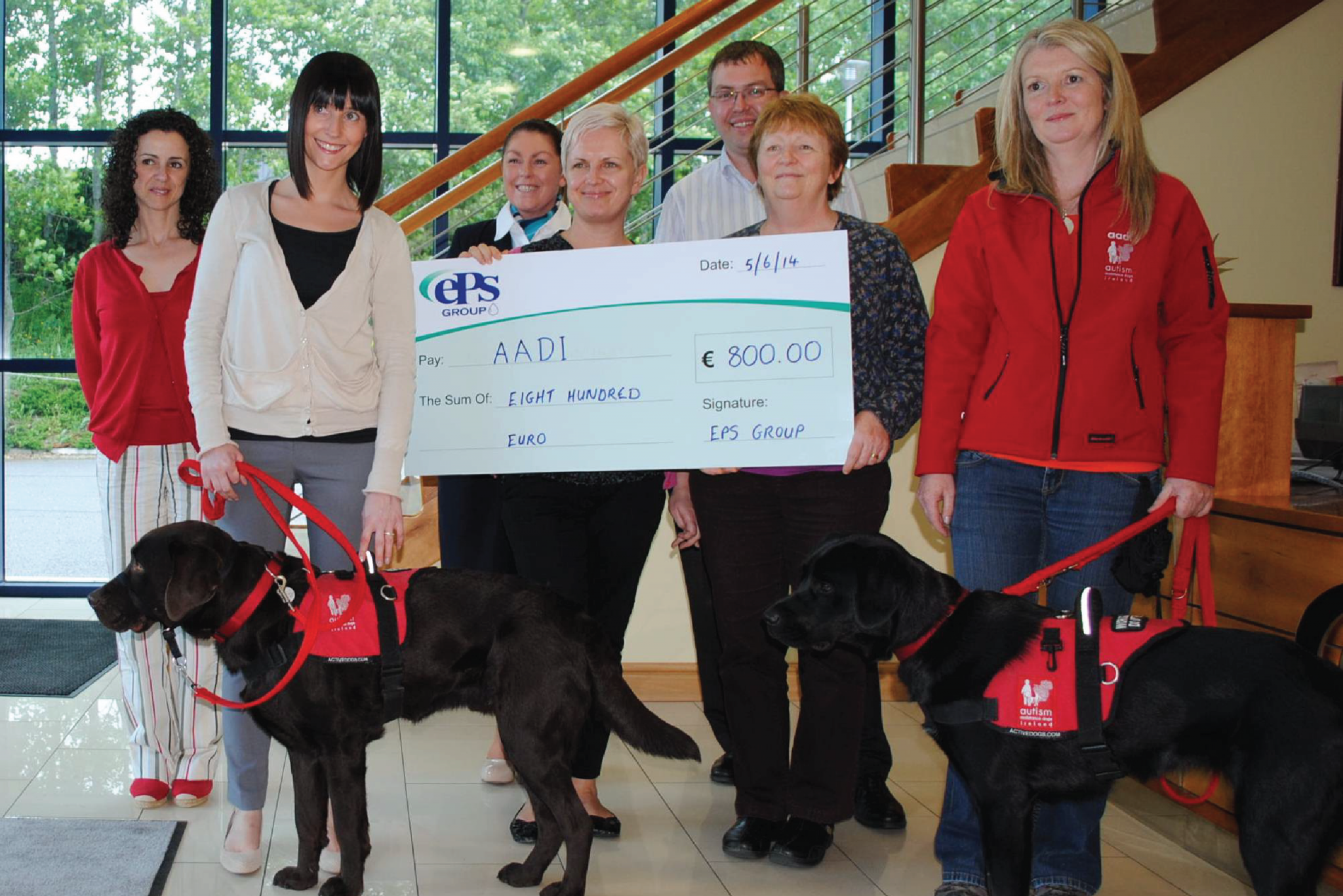 EPS Supports Autism Assistance Dogs Ireland (AADI)